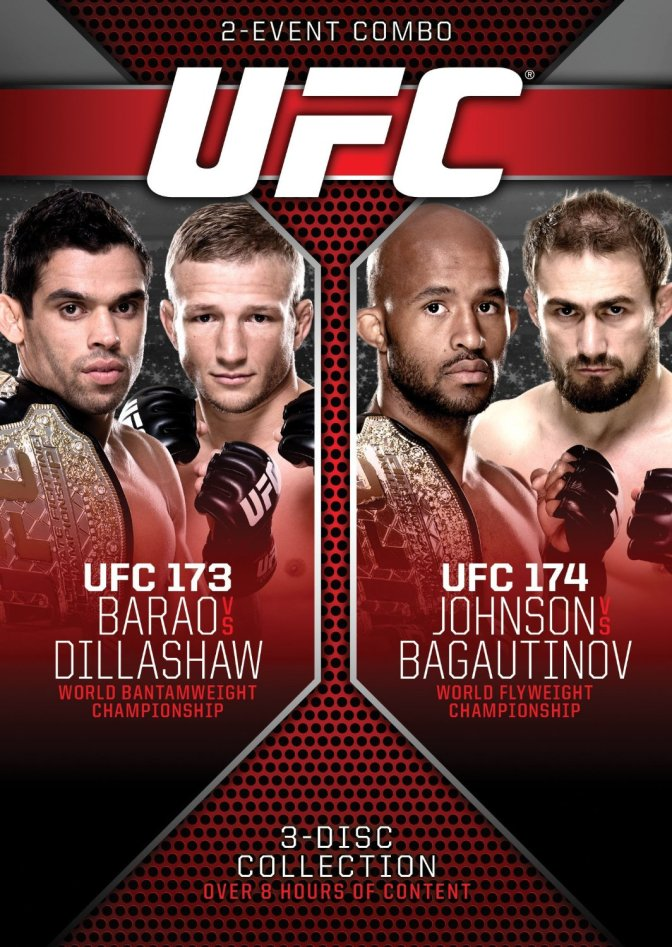 MMA Crossfire – UFC 173 + UFC 174 DVD set launches August 26th