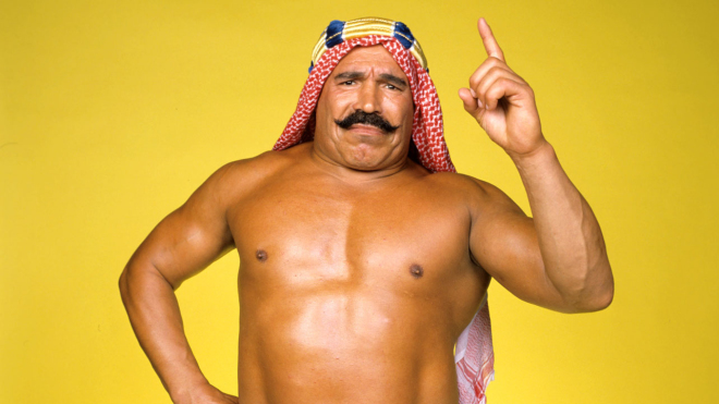 MMA Crossfire Conversations –  Cameraman zoom! The Iron Sheik on his new life story documentary