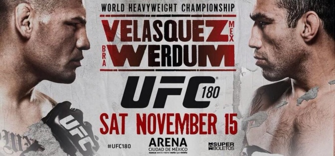 MMA Crossfire – UFC 180: Velasquez vs Werdum sells out in 8 hours