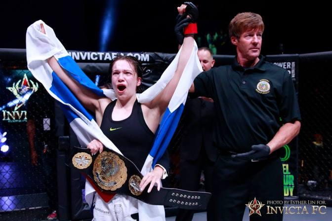 MMA Crossfire – Katja Kankaanpää vs Renata Souza title fight set for Invicta FC 12