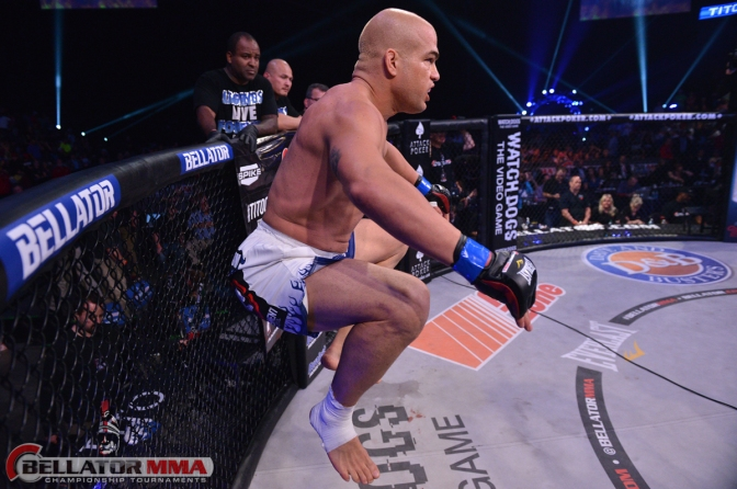 Tito Ortiz. Courtesy Bellator MMA.