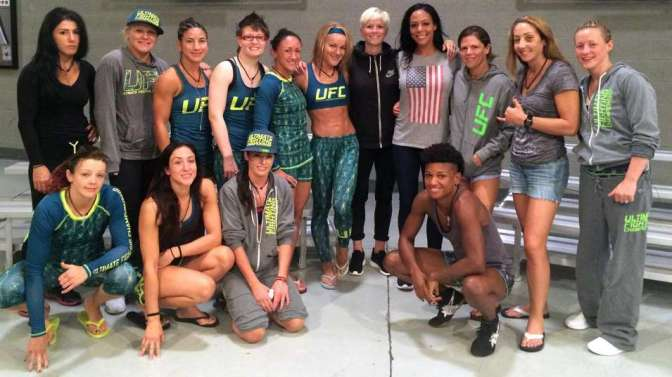 MMA Crossfire – UPDATED – TUF 20: Ep. 7 preview: US women's soccer team members pay a visit