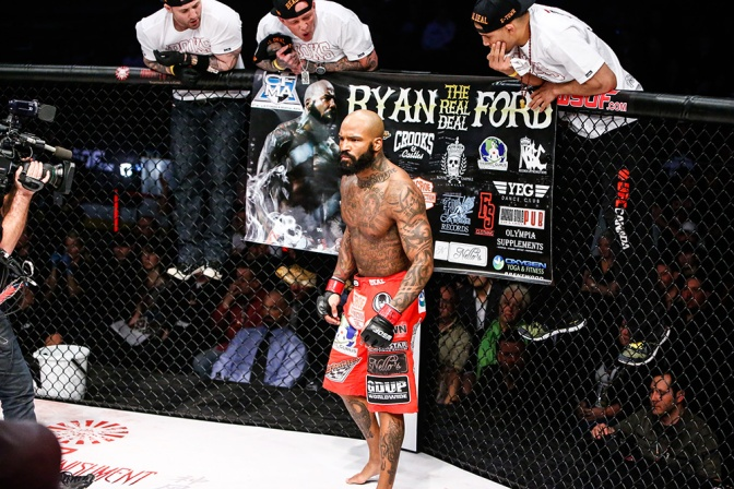 MMA Crossfire – Ryan Ford explains fighting Jake Shields with a broken arm at WSOF 14