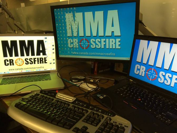 MMA Crossfire – Settling into our new digs