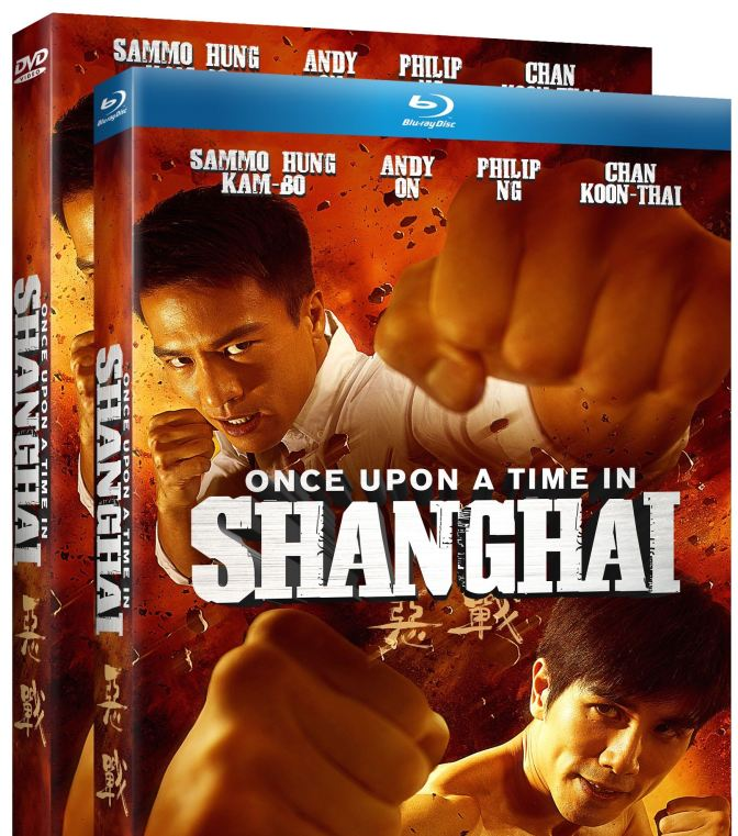 MMA Crossfire – Once upon a time in Shanghai hits home release Jan. 13th