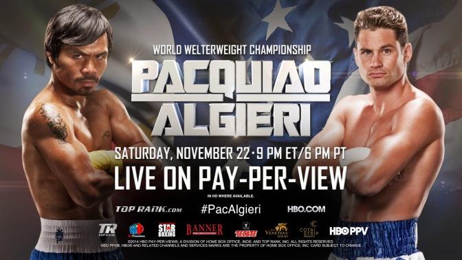 MMA Crossfire – Manny Pacquiao vs Chris Algieri predictions