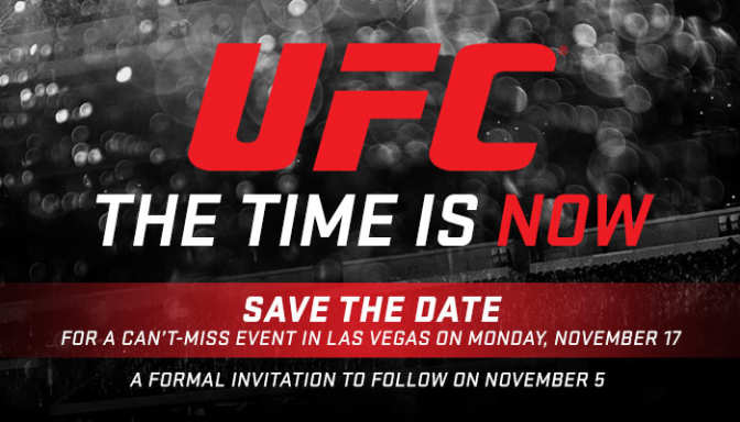 MMA Crossfire – The Time is Now: UFC stars to appear together on Nov. 17th live stream event