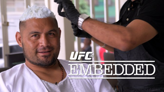 MMA Crossfire – Watch the UFC 180: Embedded series