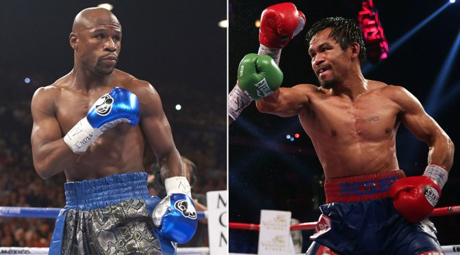 MMA Crossfire – Vegas weighs in on possible May 2nd Mayweather-Pacquiao fight