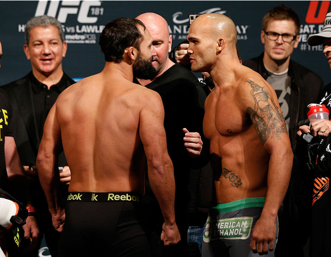 MMA Crossfire – UFC 181: Hendricks vs Lawler II predictions