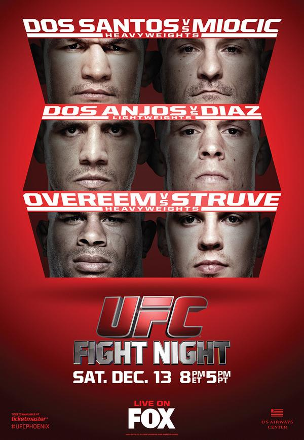UFC on FOX 13