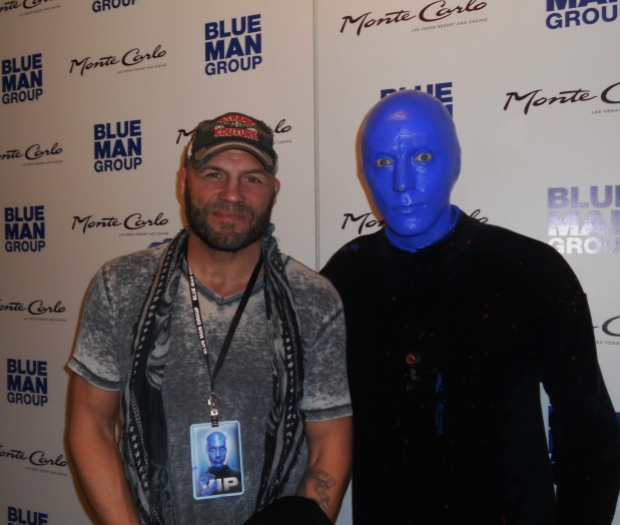 High Res Randy Couture At Blue Man Group Las Vegas In Monte Carlo Resort And Casino 620 Resize Ufc Hall Of Famer