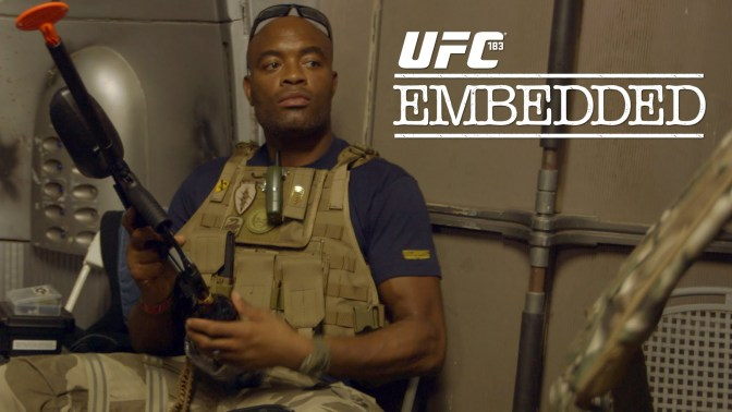 MMA Crossfire – Watch the entire UFC 183 Embedded series here