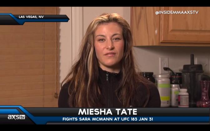 MMA Crossfire – Miesha Tate talks Sara McMann and the UFC strawweights