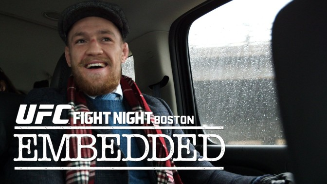 MMA Crossfire – Watch the entire UFC Fight Night Boston: Embedded series right here