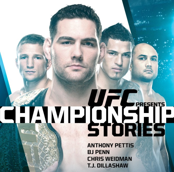 MMA Crossfire – UFC Presents: Championship Stories explores 4 past and present champions