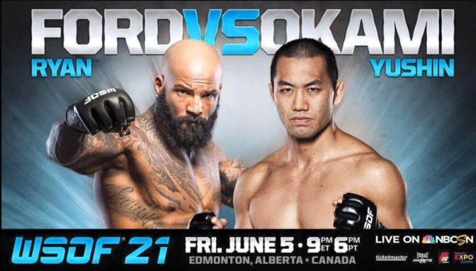 MMA Crossfire – Ryan Ford to face Yushin Okami at WSOF 21