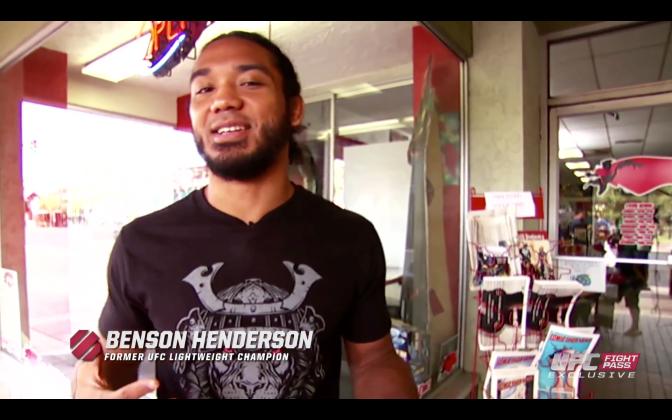 MMA Crossfire – Gym Escape: UFC Fight Night Broomfield's Benson Henderson