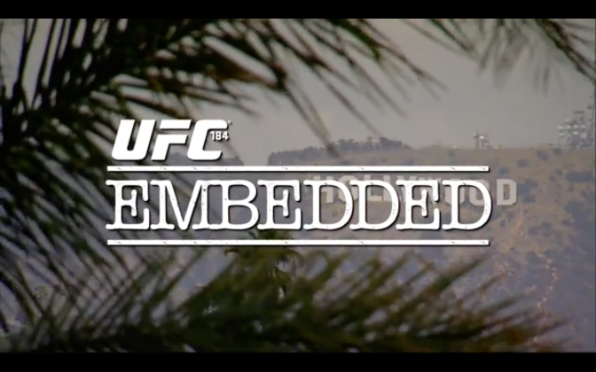 MMA Crossfire – Watch the entire UFC 184 embedded series here
