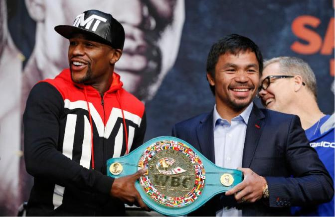 MMA Crossfire – Floyd Mayweather or Manny Pacquiao? Evander Holyfield weighs in